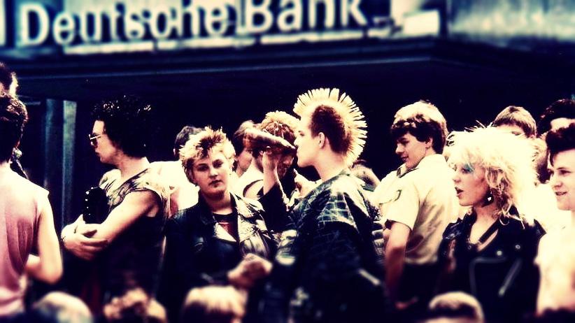Verkaufsoffener Samstag in Elberfeld 1982