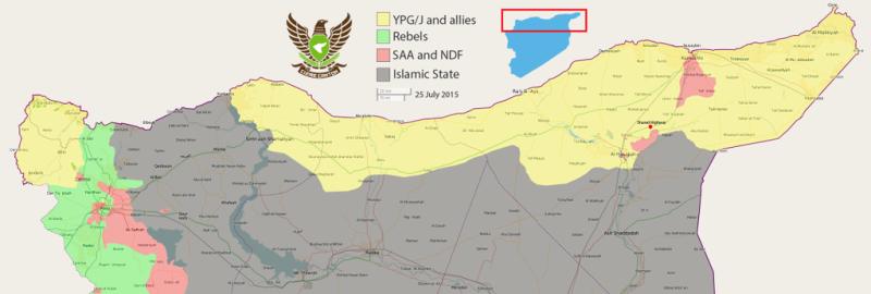 Aktuelle Lage in Rojava. Türkei fürchtet Verbindung der Kantone.
