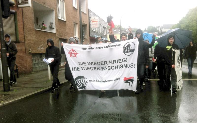 Klein aber kraftvoll: Demo am Samstag in Elberfeld