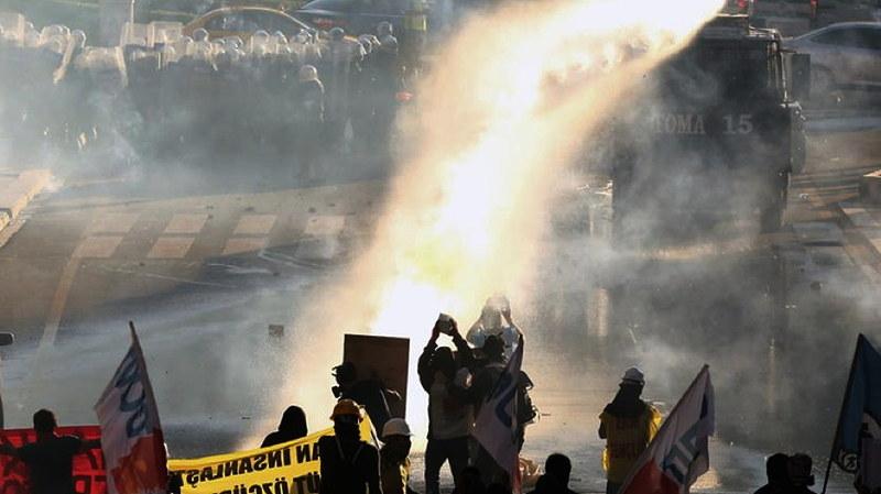 Istanbul, Jahrestag der ersten Gezi-Räumung, 31.05.2014